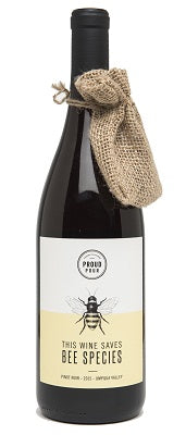 Proud Pour Pinot Noir This Wine Saves Bee Species 2015