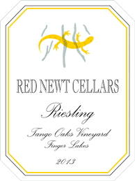 Red Newt Cellars Riesling Tango Oaks Vineyard 2013