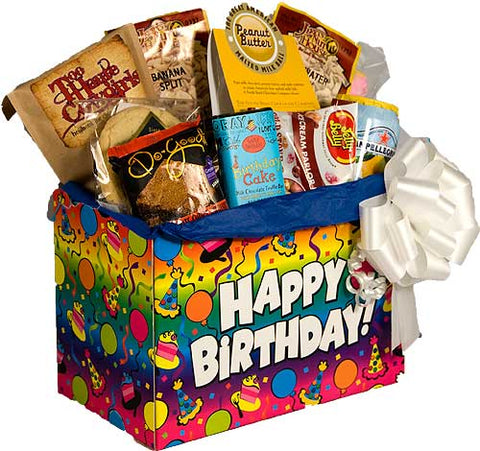 BIRTHDAY SWEETS GIFT BASKET
