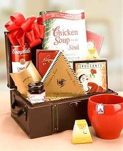 Hang In There & Get Well Gift Basket