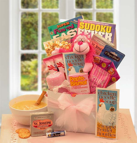 Get Well Corporate Gift Baskets