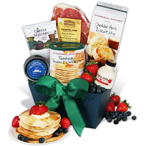 """Signature Series"" Fruit and Gourmet Gift Basket"