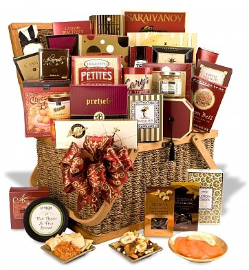 """The Downtown"" Gourmet Grandeur Gift Basket"
