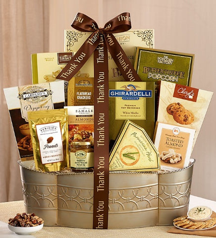 A VERY BIG THANK YOU GOURMET GIFT SET