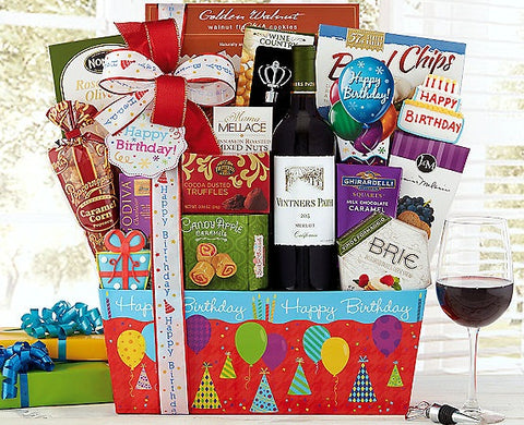 Vintners Path Merlot Birthday Collection