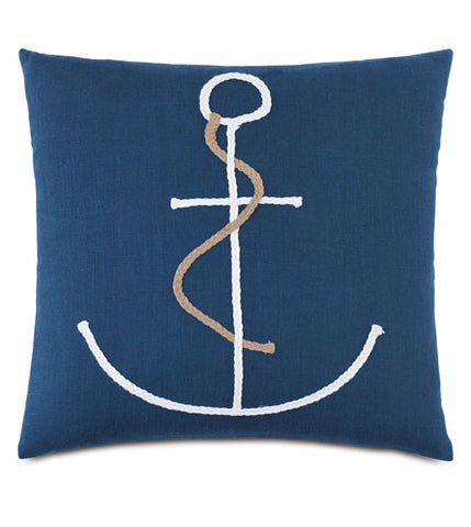 Braided Anchor Pillow