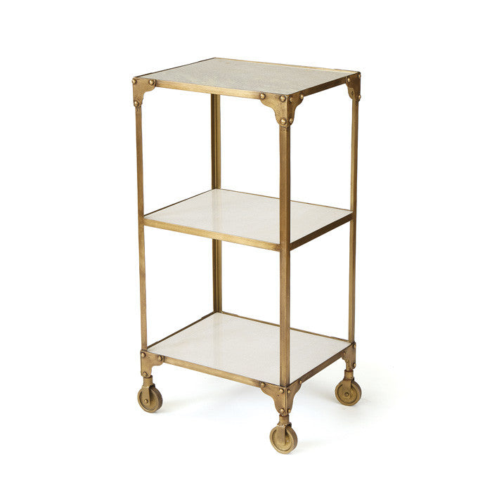 Brushed Brass Side Table Ad Hoc Home - Brushed brass side table
