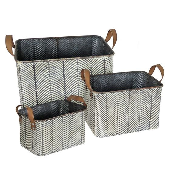 Braxton Baskets- Set of 3