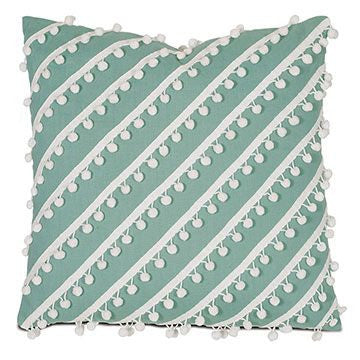 Breeze Pillow in Aqua