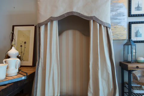 Twin Bed Canopies & Headboards- Rogers & Goffigan