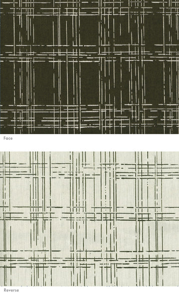 Drypoint Plaid Black Forest