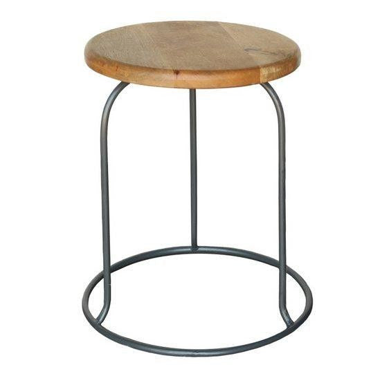The Graham Stool- Gray
