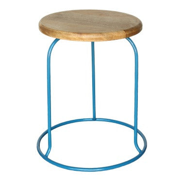 The Graham Stool- Blue