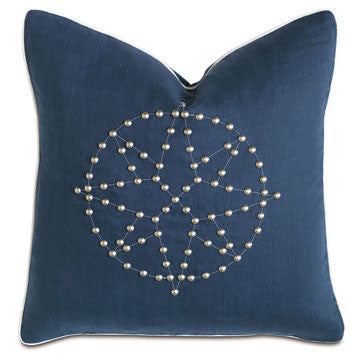 Barclay Butera Pillow with Nailheads