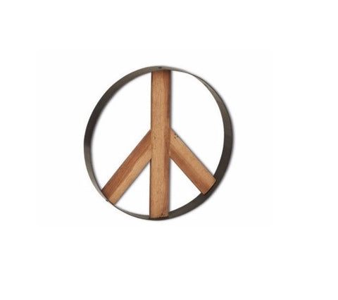 Ironwood Peace Sign