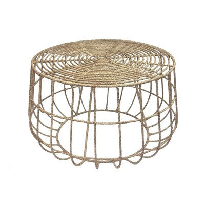 Jute Cocktail Table