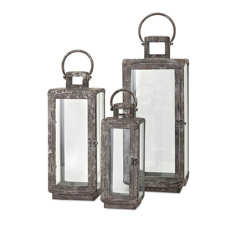 Homestead Lanterns - Set of Three