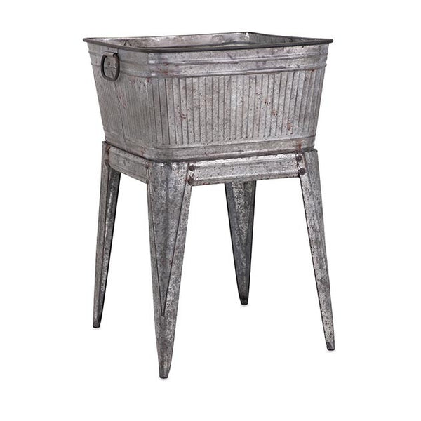 Perryman Galvanized Tub on Stand