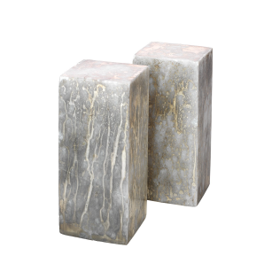 Marble Bookends - Set of Two