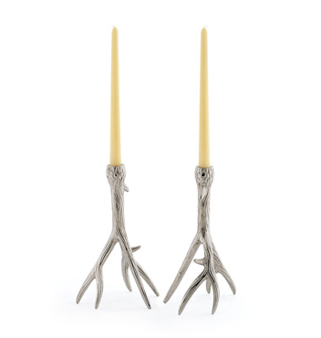 Nordic Candle Holders, Set of Two