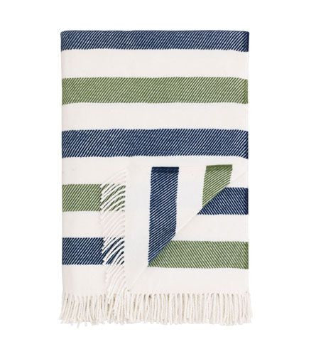 Wolcott Striped Throw