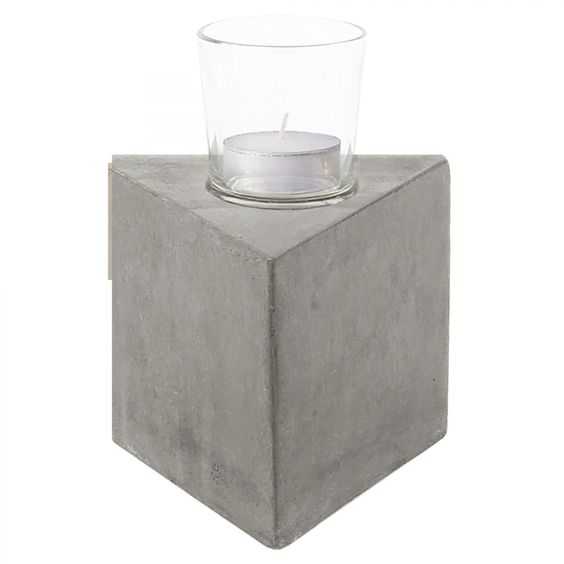 Concrete Elements Candle Holders