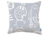 Kirkby New York Scrawl Pillow