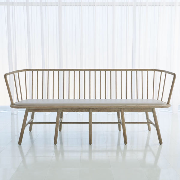 Long Spindle Bench