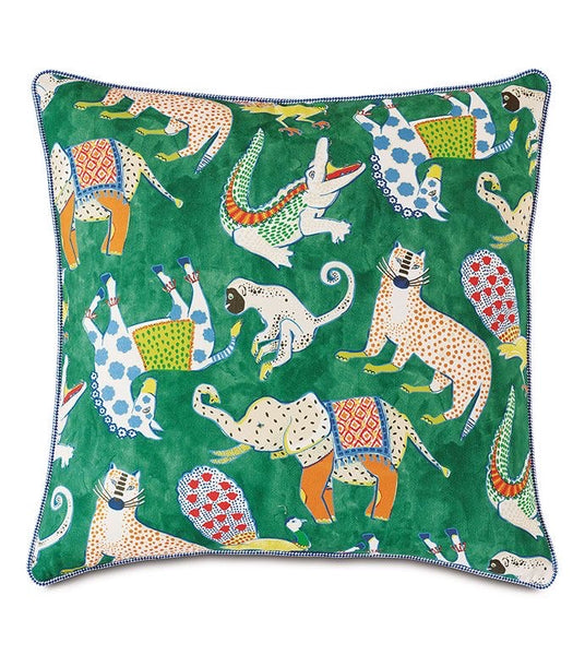 Hullabaloo Reversible Euro Pillow