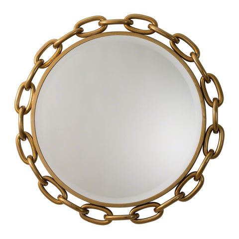 Linked Mirror in Gold