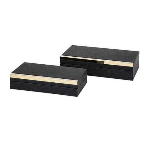 Eclipse Shagreen Boxes Set/2
