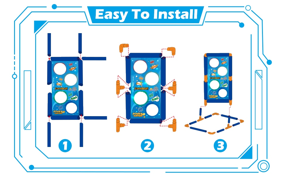 HOW TO INSTALL THE TARGET BOARD
