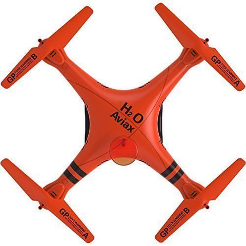 GP TOYS H2O Aviax Waterproof Drone 4-Axis Quadcopter RTF LIKE DJI Phantom 2 LED Lights RC Toys Support DIY - Orange - GP TOYS
