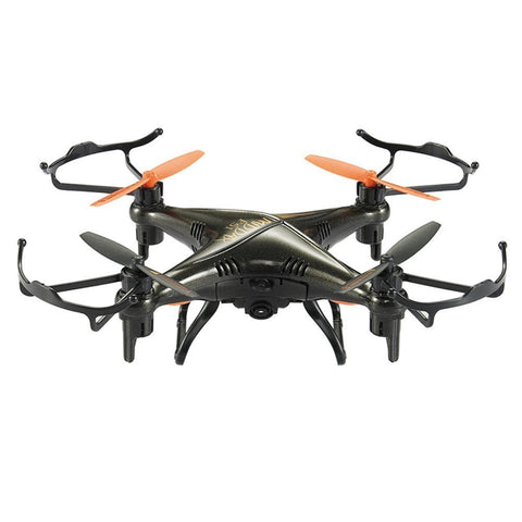 GP TOYS Middax F51 Mini Waterproof Drone Remote Control Quadcopter with 2.0MP HD Camera - Black