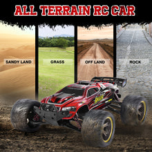 Load image into Gallery viewer, GP TOYS LUCTAN S912 1/12 Scale   , All Terrain 33+MPH  Electric Waterproof  Hobby RC Car Monster Truggy (Red)
