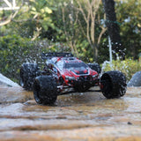GP TOYS LUCTAN S912 , All Terrain 33+MPH 1/12 Off Road Full Proportional Waterproof 2WD Monster RC Truggy (Red)