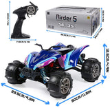 GP TOYS RC Cars High Speed Brushless Remote Control ATV 1/16 56KM/H 4WD Off-Road Waterproof Vehicle
