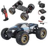 GP TOYS FOXX S911 High Speed Race Car 1/12 2WD 2.4GHz RC Truck Shaft Drive Off-road Vehicle Toy (Blue) - GP TOYS
