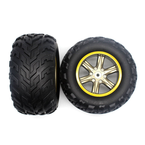 GP TOYS Foxx S911 RC Truck Tire, Spare Parts S911-ZJ01 (2 PCS)