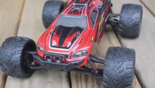 Load and play video in Gallery viewer, GP TOYS LUCTAN S912 1/12 Scale   , All Terrain 33+MPH  Electric Waterproof  Hobby RC Car Monster Truggy (Red)