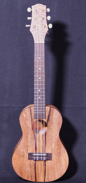 Ho'okipa Chocolate-heart Mango Tenor 6 string