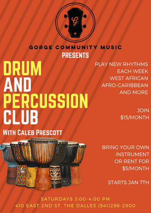Drum and percussion club