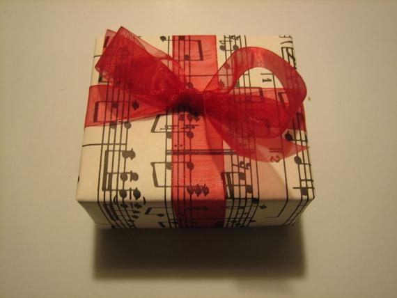 Music Lesson Gift Certificate