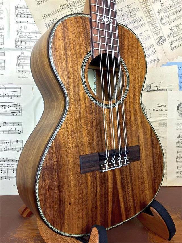 KALA SOLID ACACIA TENOR 8-STRING