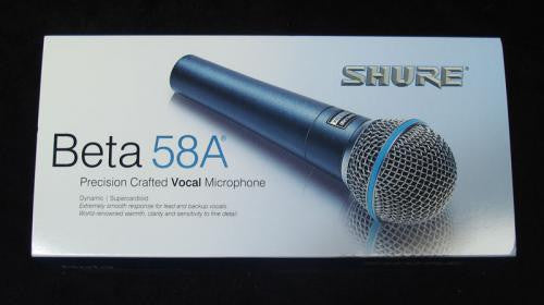 Beta 58A Cardioid Vocal Mic