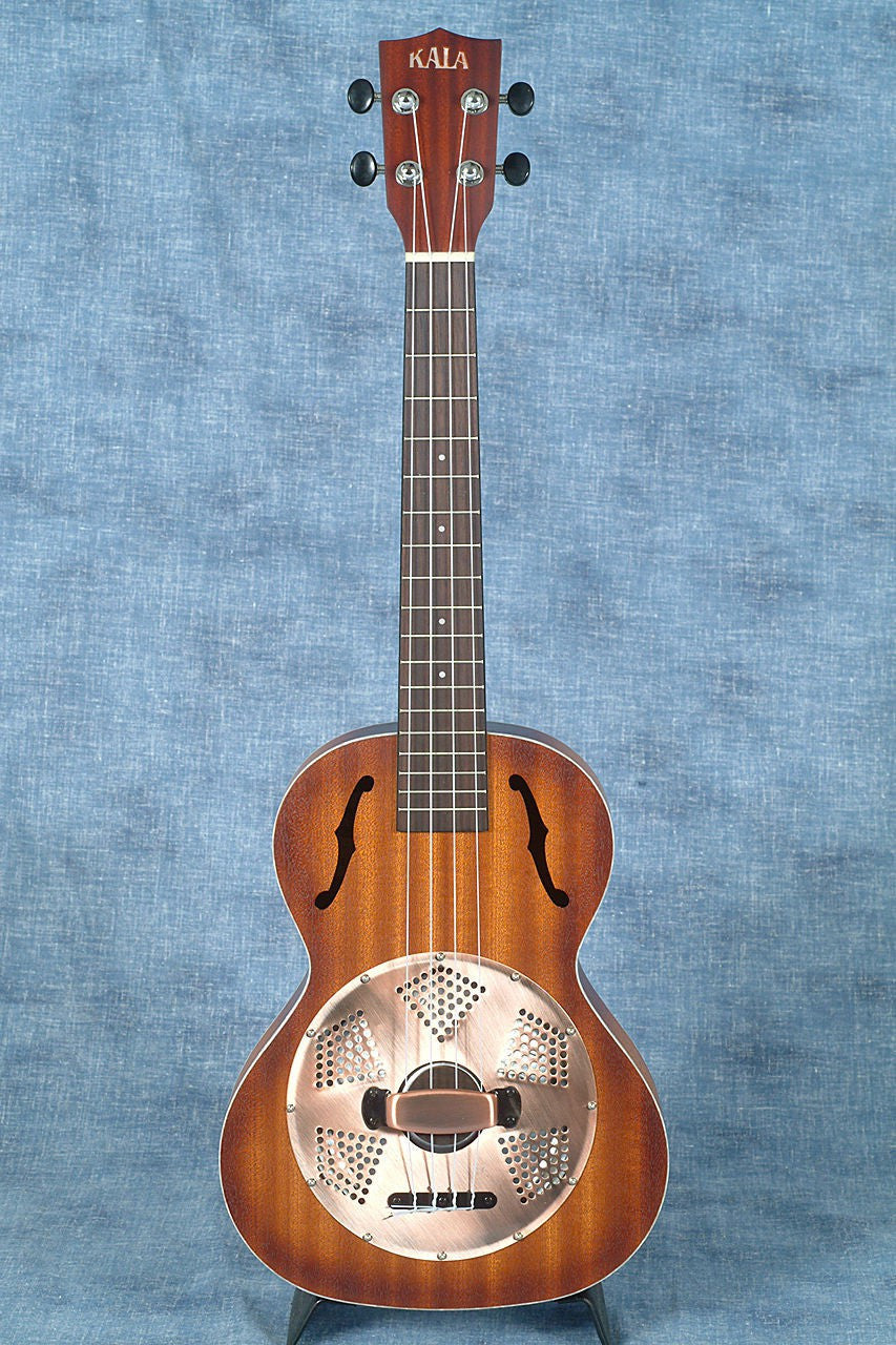 KALA MAHOGANY BURST TENOR RESONATOR UKULELE