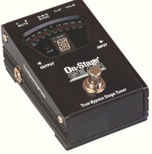 On Stage GTA7800 True Bypass Pedal Tuner