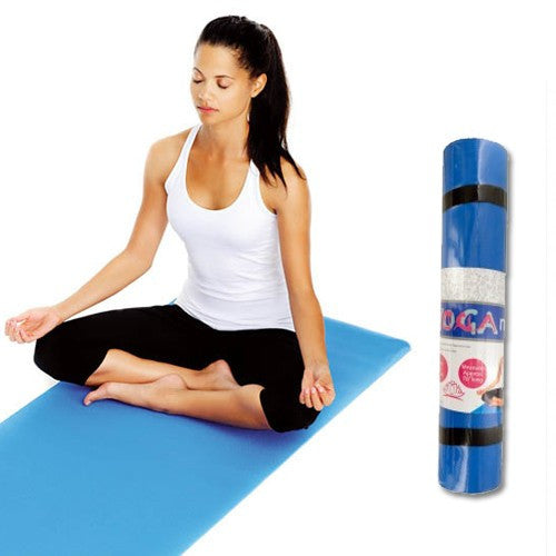 "HEALTH & BEAUTY, Men/Women's Health - *BLUE YOGA MATS* 70"" X 19.5"" X 0.125"""