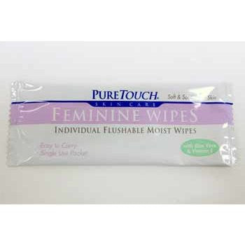 HEALTH & BEAUTY, Men/Women's Health - *PURE TOUCH FEMININE WIPES