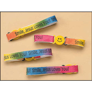 RELIGIOUS & SPIRITUAL, Items - JESUS LOVES YOU BRACELETS- SET OF 6